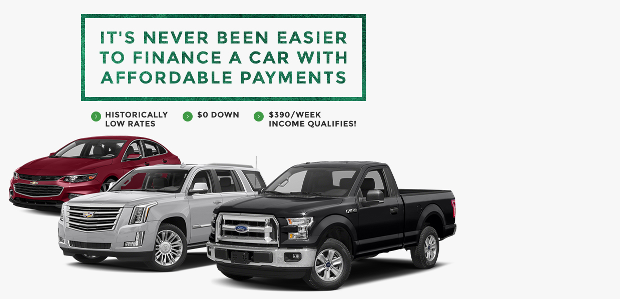 Its never been easier to finance a car with affordable benefits
